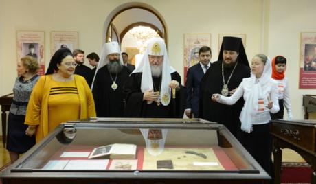 Посещение патриархом Кириллом Екатеринбурской епархии
