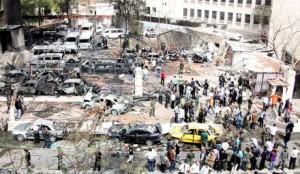 Damascus blast kills eight
