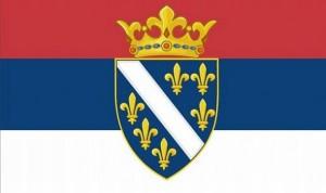 Kotromanjici-srpska-zastava