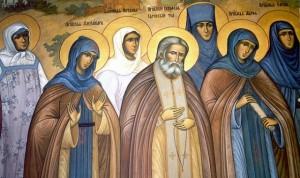 Sv.Serafim-Sarovski-i-podviznice-Serafimo-divjejevskog-manas
