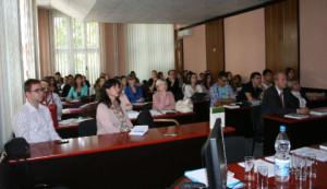 Студенти и професори присутни предавању проф. Пашека из Кракова