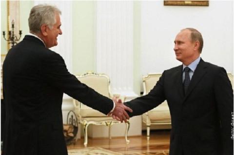 Николић и Путин