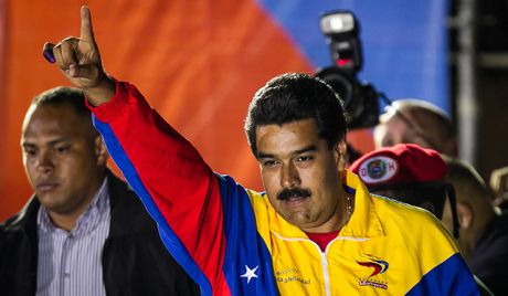VICTORY OF PRESIDENT IN CHARGE NICOLAS MADURO