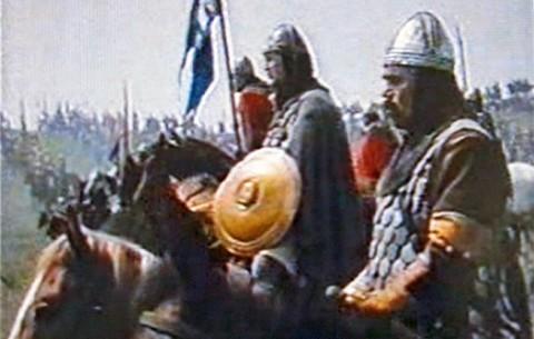 """Из филма """"Бој на Косову""""."""