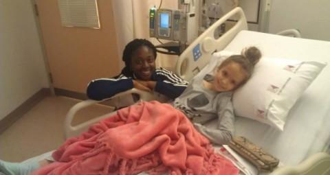 Изабела у болници