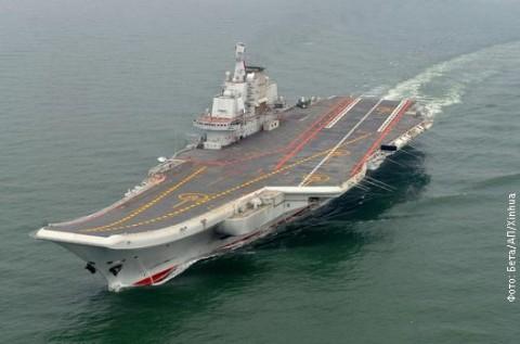 Кинески носач авиона.
