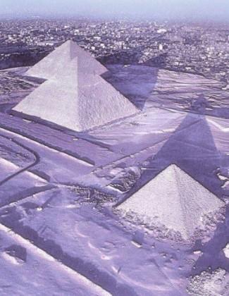 Снег у Египту.