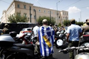 Атина - време штрајкова (Фото Петрос Г.)