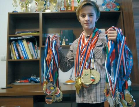 Тринаестогодишњи Антон заволео је Београд и Србију / Фото А. Станковић