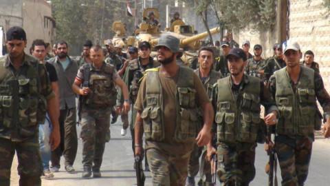 Сиријска војска побеђује на свим фронтовима.