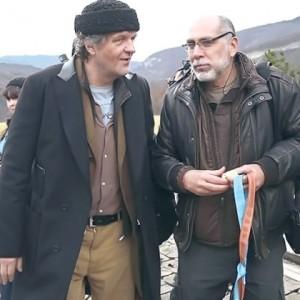 "Емир Кустурица и Гиљермо Аријага Фото ""Кустендорф"""