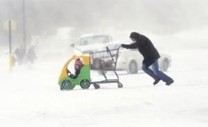Снег и ледена температура паралисали америчке градове: Мичиген (Фото Бета)