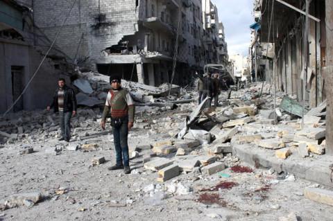 Део Алепа након битке