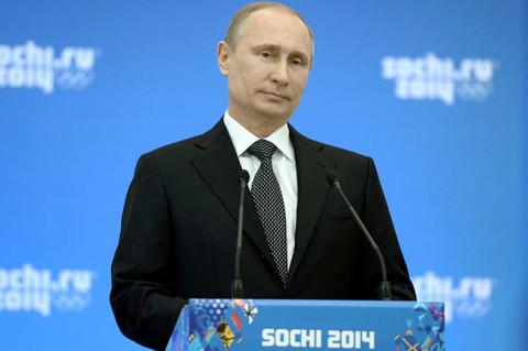 Владимир Путин на седници Друштвеног савета Сочи-2014