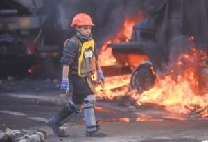 Деца на улицама Украјине