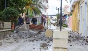 Кефалонија после последњег земљотреса/ Фото:АП