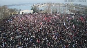Демонстрације на Криму пре три дана