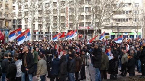 Хиљаде грађана у центру Београда
