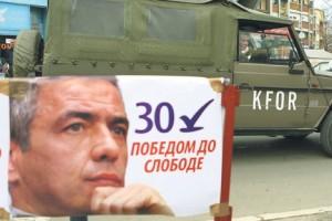 Предизборни плакат Оливера Ивановића (Фото Танјуг)