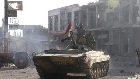 Тенк сиријске армије