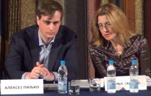 """Алексеј Пиљко на отварању центра у """"Руском дому"""""""