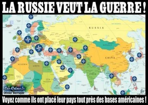 НАТО око Русије?