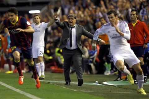 Незадрживи спринт Герета Бејла - за први трофеј Реала у ери Карла Анћелотија.