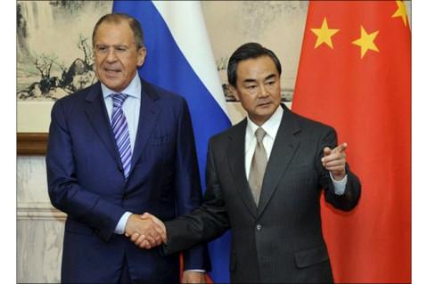 Сергеј Лавров са Ванг Јием