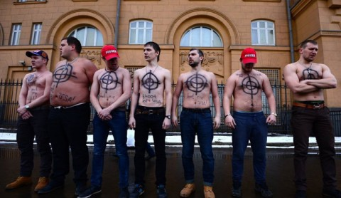 Руси као и ми... Воле да буду мета ;)