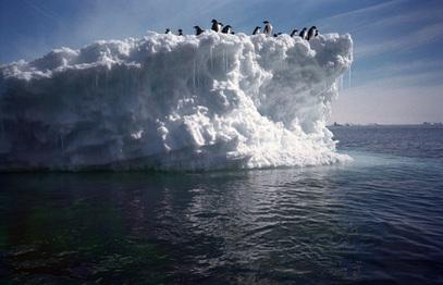 Лед Антарктика садржи 61 одсто целокупних резерви питке воде на Земљи.