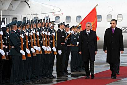 Српски председник Томислав Николић и Филип Вујановић