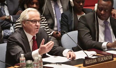Амбасадор РФ при СБ УН Виталиј Чуркин