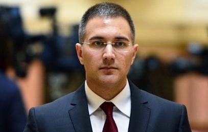 Министар унутрашњих послова Небојша Стефановић