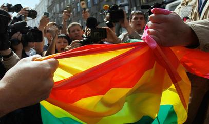 ГРАДСКА влада Москве званично је забранила одржавање марша хомосексуалаца у центру руске престонице