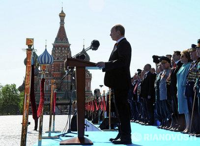 ПУТИН: Чуваћемо Русију, изнад свега ће нам бити служење Отаџбини