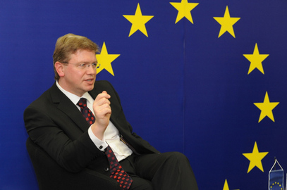 Комесар за проширење Европске уније Штефан Филе