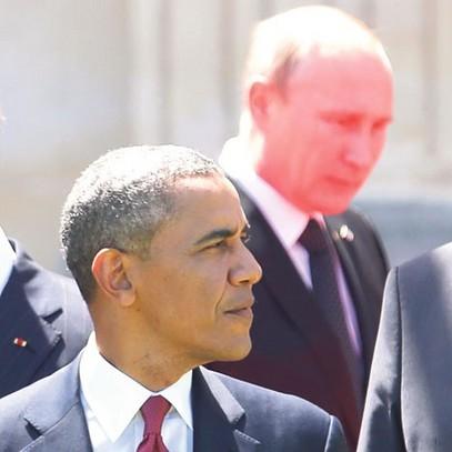 """""""Случајни сусрет"""" Путина и Обаме"""