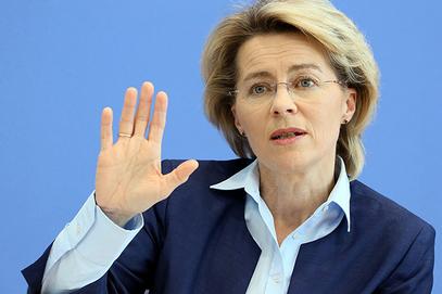 Немачка министарка одбране Урсула фон дер Лајен
