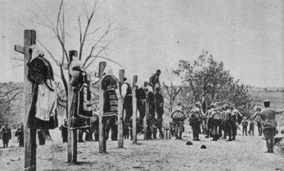 Немилосрдна: Аустријска војска у Мачви вешала цивиле