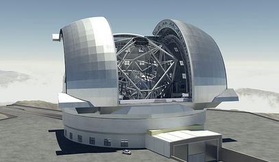 У Чилеу дигли у ваздух планину за највећи телескоп на свету / © Photo: Swinburne Astronomy Productions/ESO/cc-by