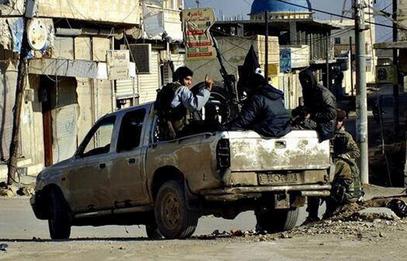 Сирија: Цивилна возила - као војна.