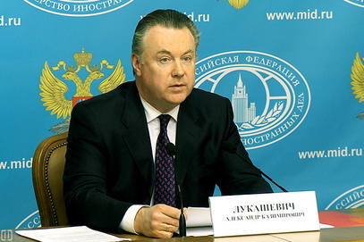 Портпарол Министарства иностраних послова Русије Александар Лукашевич