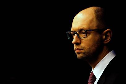 Премијер у влади кијевске хунте  Арсениј Јацењук