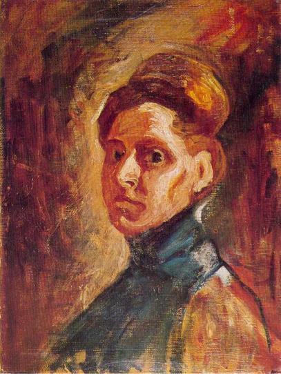 Надежда Петровић: Аутопортрет, 1907, Народни музеј, Београд / Фото: Википедија