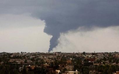 Пожар у Триполију