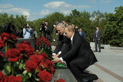 Путин и Лукашенко одали почаст херојима Великог отаџбинског рата
