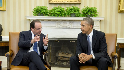 Франсоа Оланд и Барак Обама