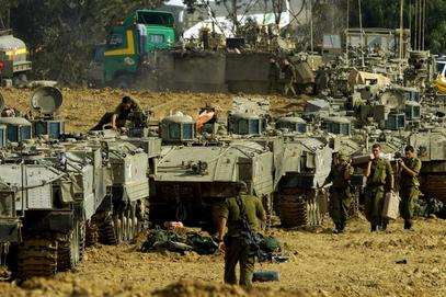 Припреме Израелске војске за копнену офанзиву