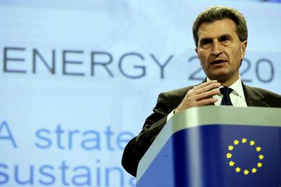 ЕТИНГЕР: Брисел је спреман да са Бугарском разговара о реализацији пројекта Јужни ток
