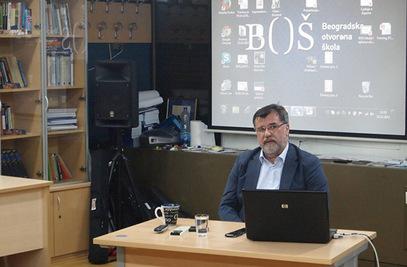 Председник Одбора директора Б92 Веран Матић